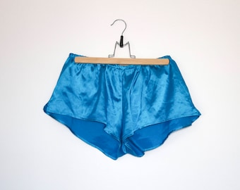 Brilliant blue shorts
