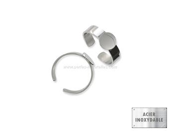 Stainless steel - 10mm or 12mm - 1/5/10 Stainless Steel Ring