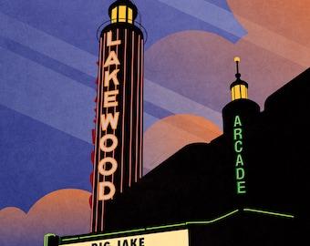Lakewood Theater, Dallas LARGE PRINT