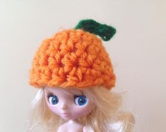 Petite Blythe pumpkin hat