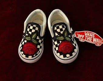 Toddler Rose Vans