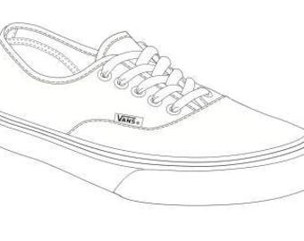 Custom Vans (lace up)