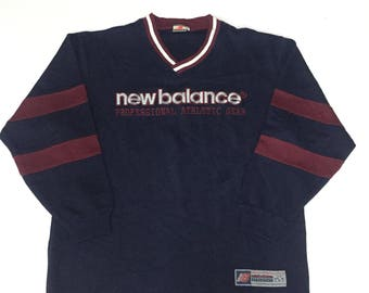 New Belance Sweatshirt Spell Out Embroidery Medium Size