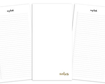Standard Notes Pages Printable Insert - TN - Plain Cover