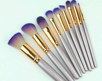 9pcs Unicornio Maquillaje Brush Makeup Brushes Set Cosmetic Eyeshadow Lip Powder Face Make Up Brushes Pinceis Maquiagem Tools