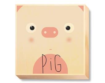 "Children's Art ""Pig Muzzle"""