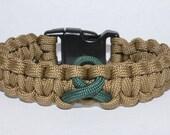 Coyote PTSD Awareness Bracelet
