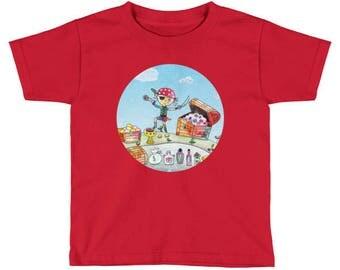 Pirate Kids Short Sleeve T-Shirt