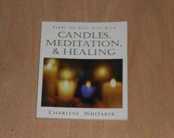 Candles meditation and healing
