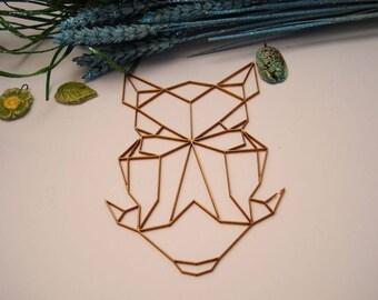 Head warthog 02059 embellishment wooden creations