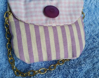 Wedding favor-Lavender-scented linen handbag