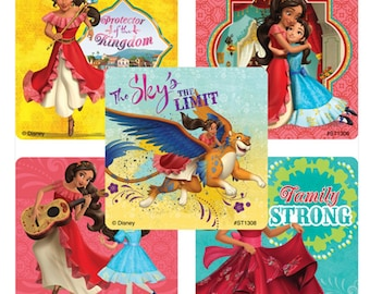"30 Elena of Avalor Stickers, 2.5"" x 2.5"" Each"