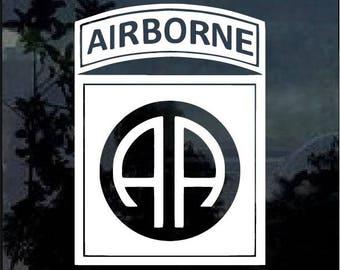 82nd Airborne Decal Sticker Window Decal Sticker