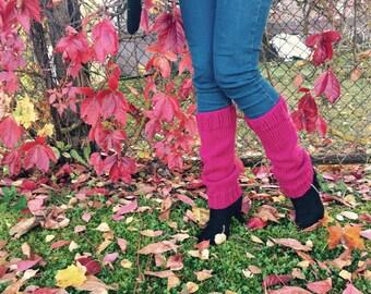 Handmade leg warmers