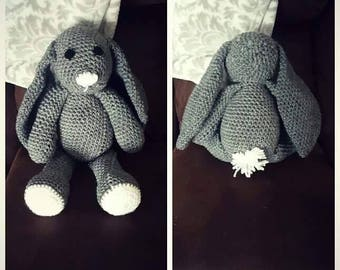 Crochet Stuffed Bunny