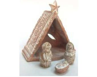 Christmas teepee nursery