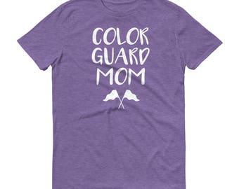 Color Guard Mom T-Shirt, Color Guard Shirt, Color Guard Momma, Color Guard Mother, ColorGuard Mom T-Shirt