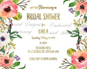 Bridal Shower High Tea