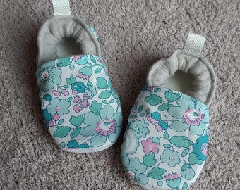 leather and liberty baby booties