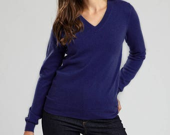 Luxury Cashmere V neck sweater