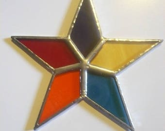 hanging star tiffany 5 branches, and 5 colors