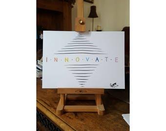 Innovate | A4 Colour Print