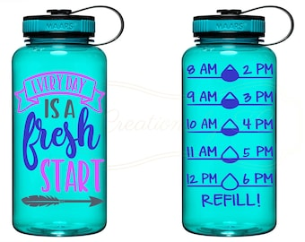 Fresh Start Water Bottle