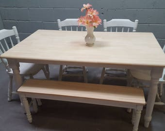 Shabby Chic 5ft table set