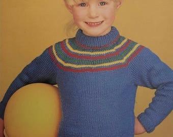 PDF Knit Children Pullover III
