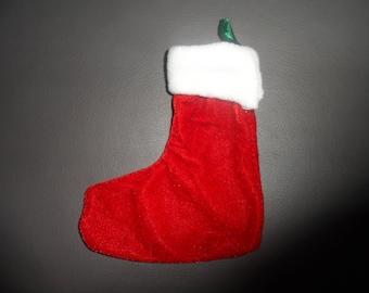 boot Christmas hanging