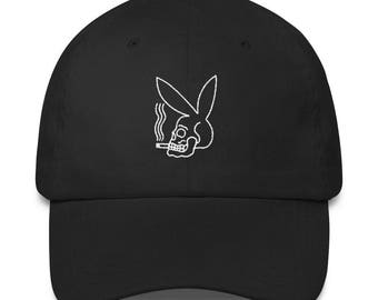 Playboy Skull Dad Hat
