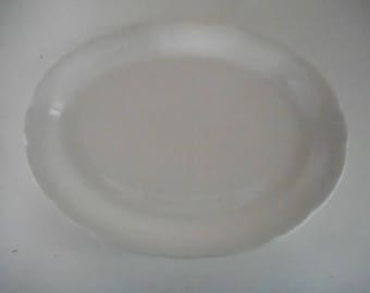 ironstone serving platter, made in china