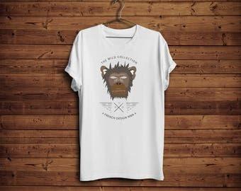 T shirt monkey NWA
