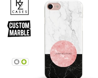 Marble Phone Case, Marble iPhone 7 Case, Gift for Her, Gift For Mom, Personalized Gift, iPhone 7 Plus Case, iPhone 6S Case, Geometric Case