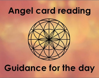 Angel card reading: Guidance for the day