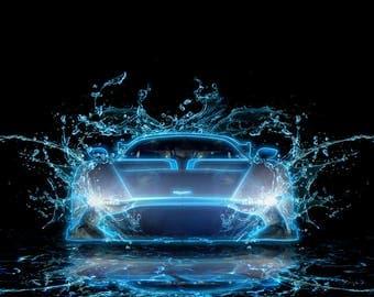 Aston Martin Vulcan Print