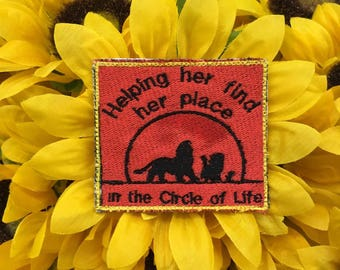 Circle of Life Service Dog Patch