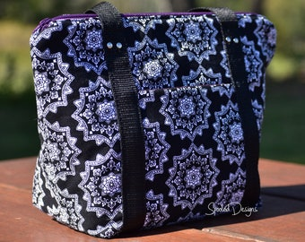Insulated Zippered Lunch Bag - PDF Pattern