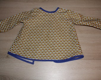 Bib apron / learning in coated cotton