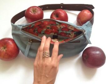 Bag belt Apple Blue