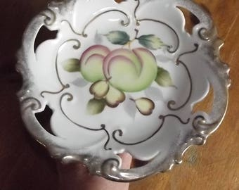Cake Plate - Shafford - Hand Decorated in Japan
