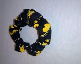 Batman Hair Scrunchie