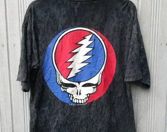 Vintage 1992 Grateful Dead Band TShirt Under Licence to Brockum Size L