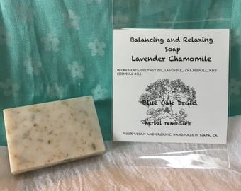 Balancing and Relaxing Lavender Chamomile Soap