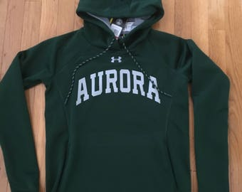 Aurora Under Armour Double Threat Fleece Hoodie Adult/Women