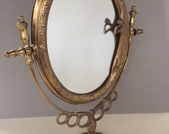 Art Nouveau Vanity Mirror
