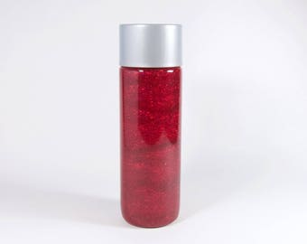 Red Calm Down Sensory Bottle - Small
