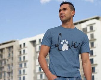 Gift For Him - Dog Lover - Dog Shirt - Dog Art - Gift For Men - Gift For Dad - Dog Lovers T Shirt - Dog Lovers Tee