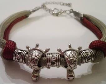 Turtles shambala bracelet