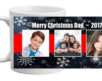 CHRISTMAS PHOTO MUG - Full Wrap